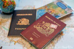 pasaporte chileno renovación
