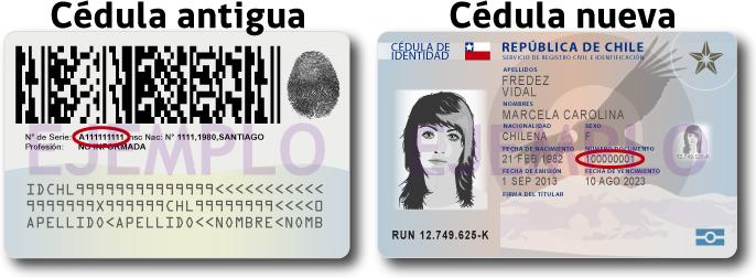 Numero de documento del carnet de identidad