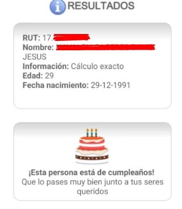 Calcular edad y fecha de nacimiento gratis