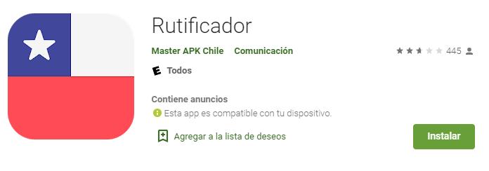 Rutificador app