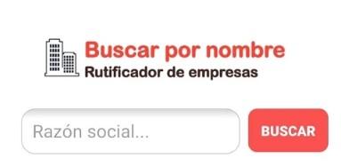 Buscar RUT de empresa por nombre en Chile - Rutificador Chile