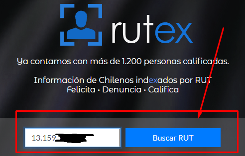 Saber dirección por rut con Rutex
