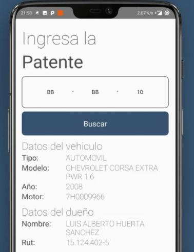 Saber dueño de auto por patente en chile