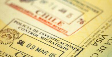 requisitos para visa consular chile