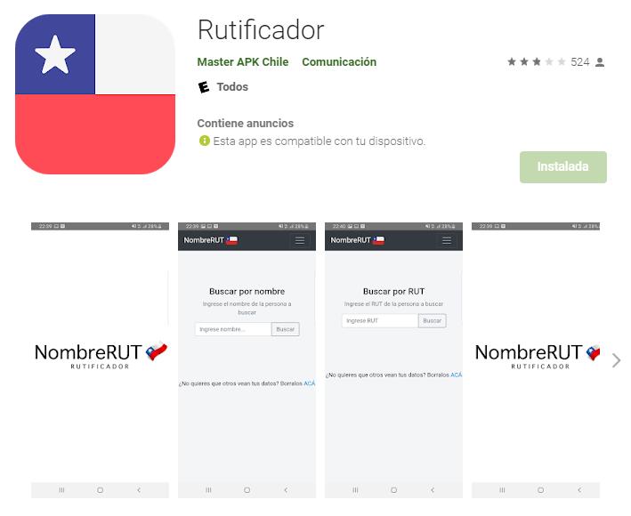 App de Rutificador