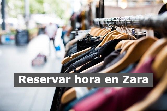 Reservar hora en tienda Zara