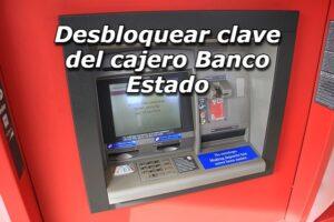 Cambiar clave del cajero automatico del Banco Estado